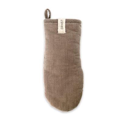 Grillvante i bomull och mullvadsfärg från Ernst Form