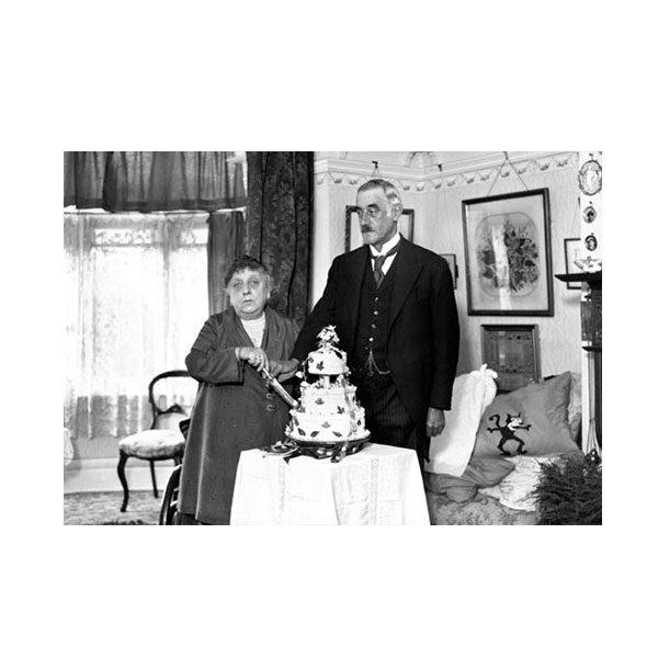 Dubbelvikt Kort - Happy Anniversary