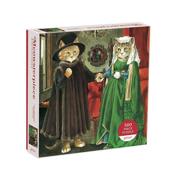 Pussel-The-Arnolfini-Marriage-Meowsterpiece-500-bitar