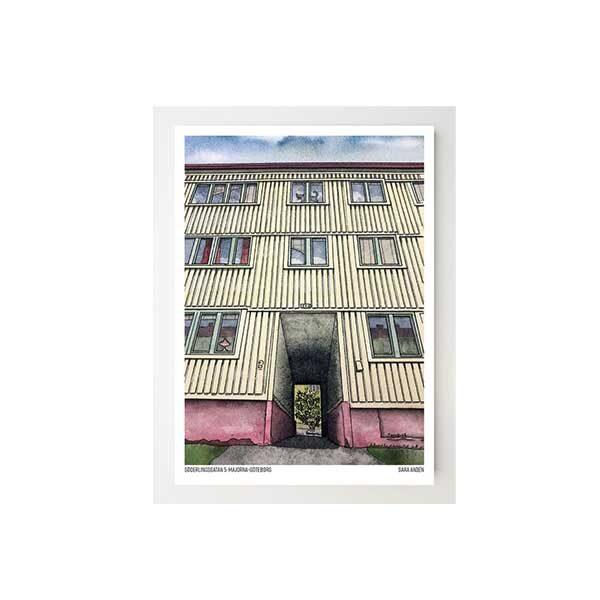 Konstkort-Söderlingsgatan