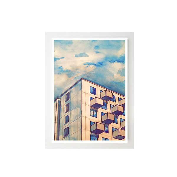 Konstkort-Vita-Björn