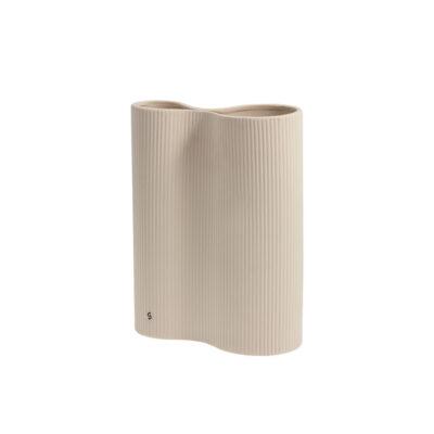 Keramikvas-Beige-Bunn
