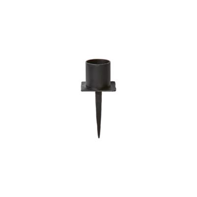 Ljushållare Svart smide, 8cm