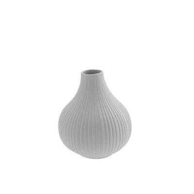 Keramikvas ljusgrå Ekenäset