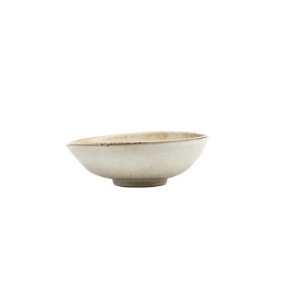 Skål i ljusgrå keramik, Lake från Housedoctor